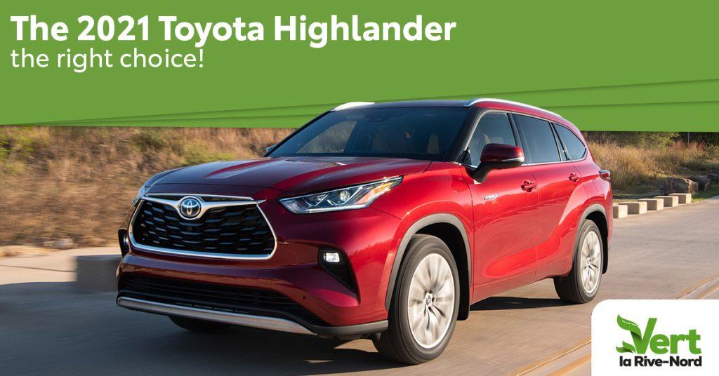 2021 Toyota Highlander Hybrid: The Obvious Choice!