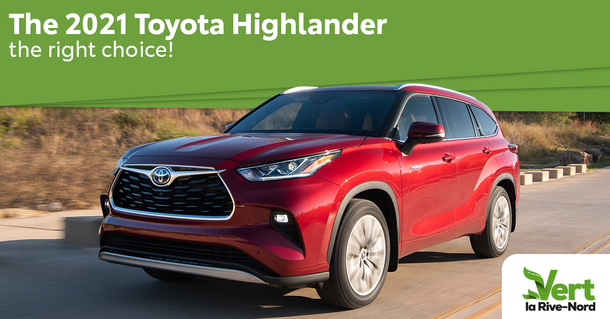2021 Toyota Highlander Hybrid: The Obvious Choice!