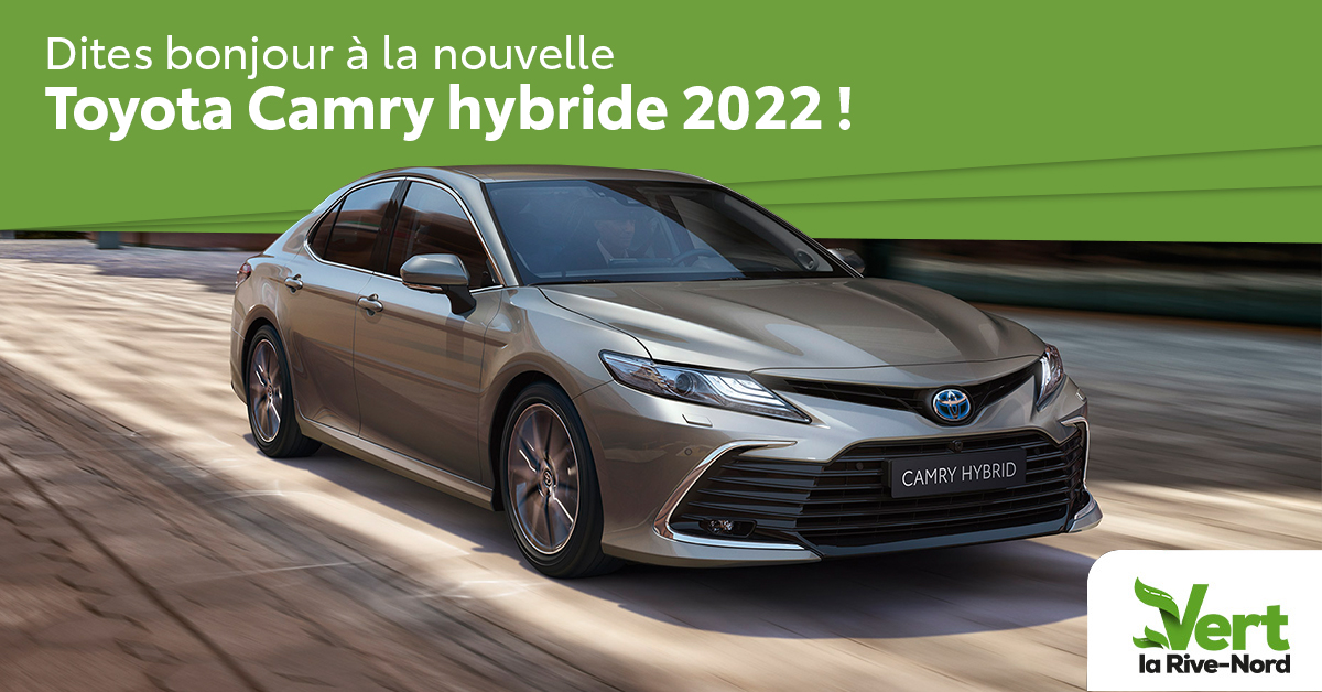 Camry hybrid 2022