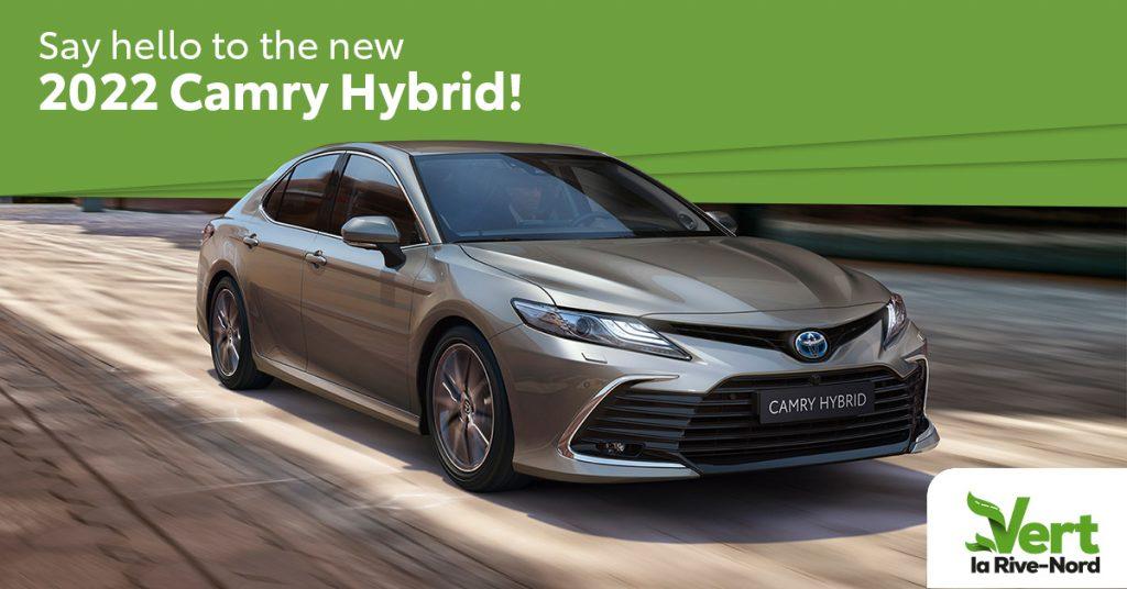 2022 Camry Hybrid